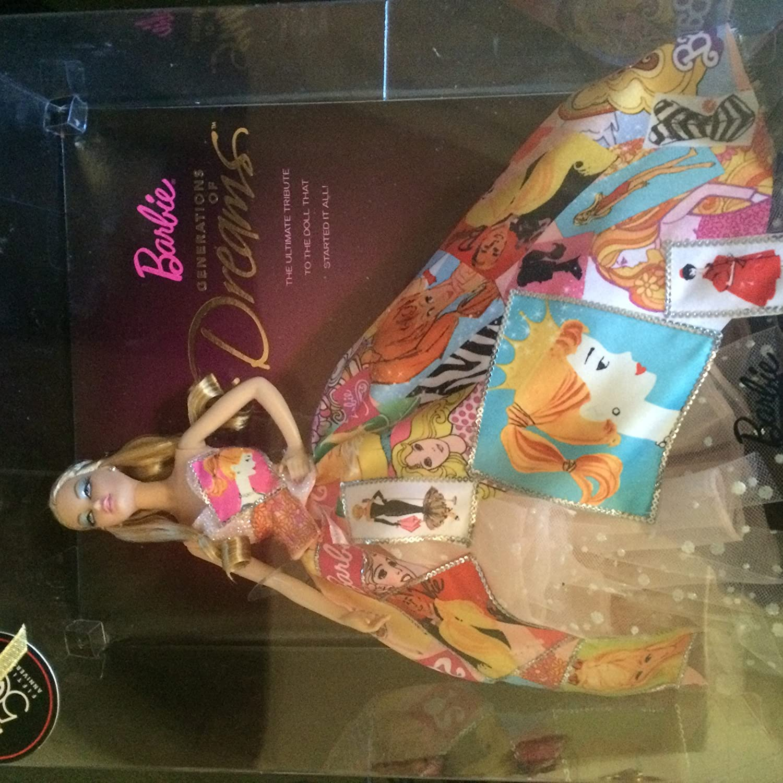 Valentine Generation of Dreans 50th Anniversary Barbie- Rare