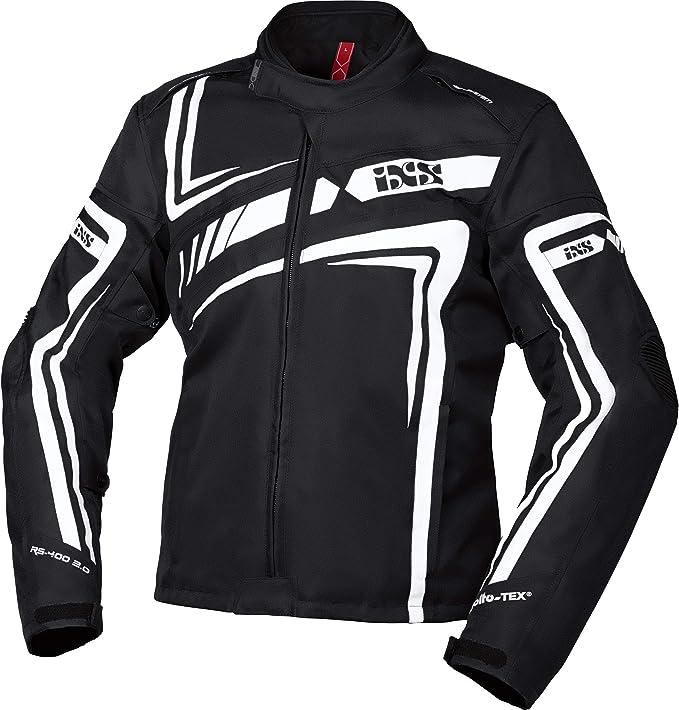 Ixs Motorradjacke Mit Protektoren Motorrad Jacke Rs 400 St 2 0 Sport Textiljacke Herren Sportler Ganzjährig Polyester Bekleidung