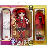 Rainbow High Winter Break Ruby Anderson – Red Fashion Doll and Playset with 2 Designer Outfits, Snowboard and Accessories, Gi
