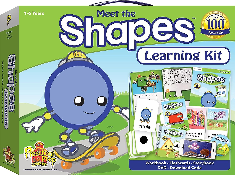 Amazon.com: Meet the Shapes Learning Kit: Preschool Prep Company ...