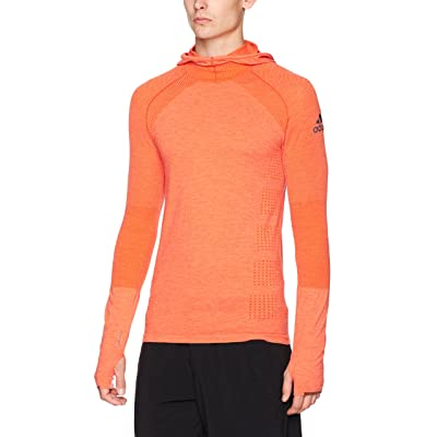 adidas Men's Running Climaheat Long Sleeve Hoody