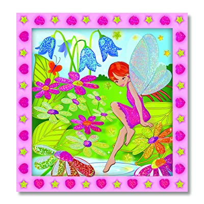 Melissa & Doug Peel and Press Sticker by Number - Flower Garden Fairy: Melissa & Doug: Toys & Games