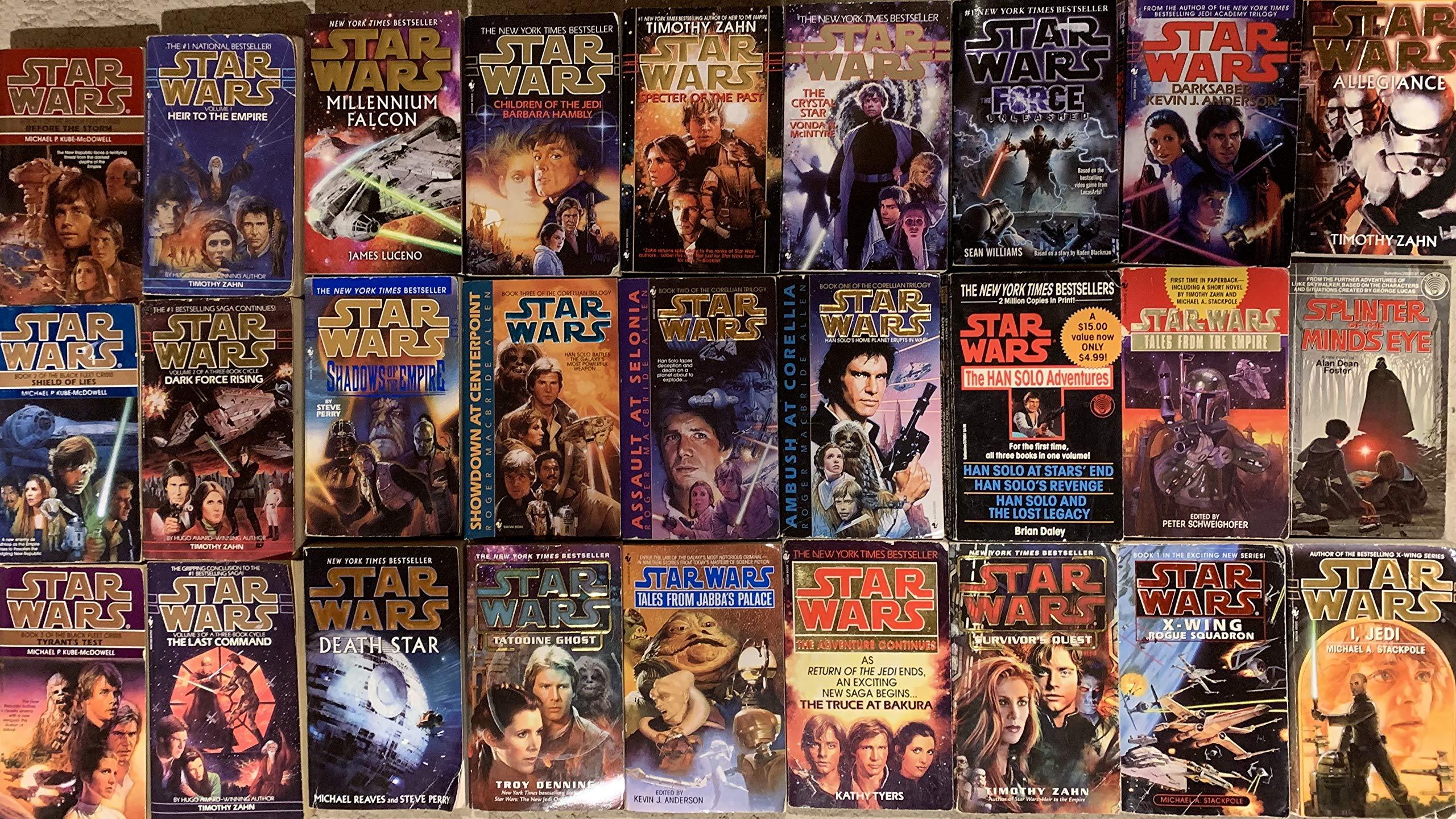 Star Wars Prequel And Sequel Novel Collection 27 Book Set Timothy Zahn 0746278844068 Amazon Com Books