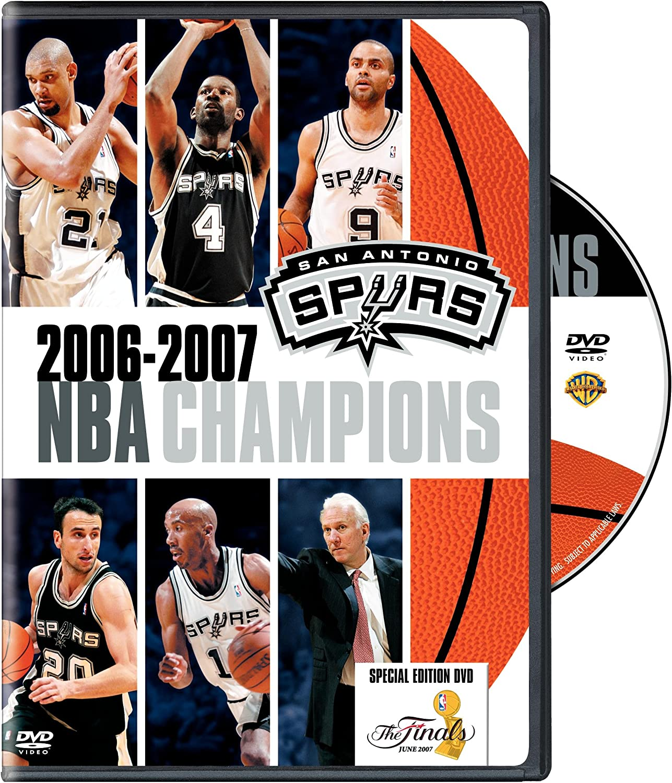 Amazon Com 2006 2007 Nba Champions San Antonio Spurs Tim Duncan Tony Parker Manu Ginobli Gregg Popovich Sports Outdoors