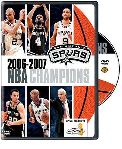 Amazon.com  2006-2007 NBA Champions - San Antonio Spurs  Tim Duncan ... f17fbeb330b