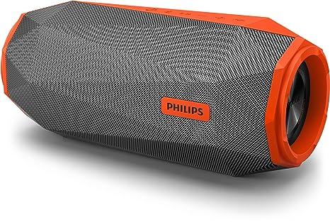 Philips Audio Shoqbox SB500M - Altavoz Bluetooth (Potente y portátil de pie, Resistente al