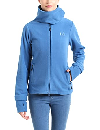 Ultrasport Damen Fleecejacke Marla, blau, XS, 10395  Amazon.de ... 22898163cf