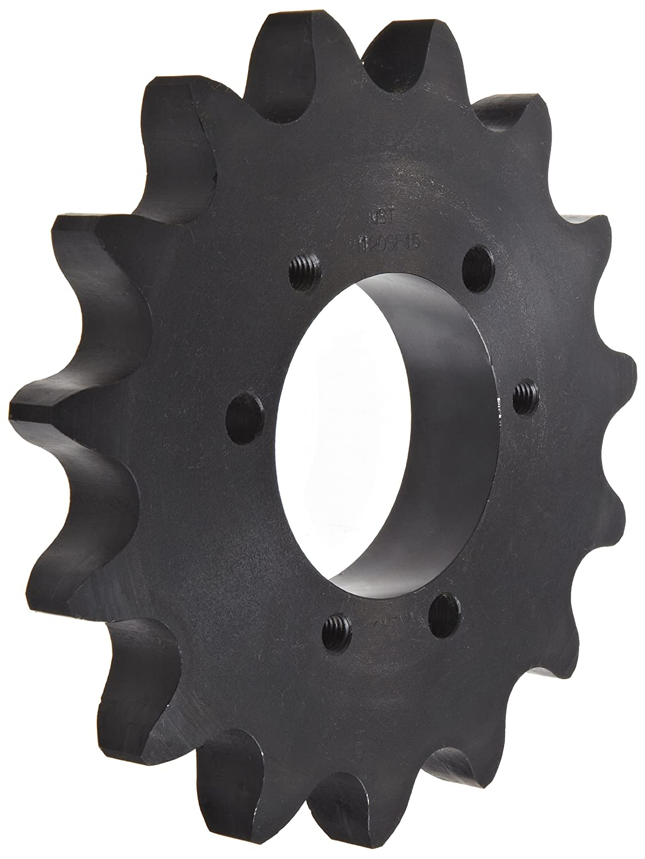 QD Design Single Strand SF Bushing Required Tsubaki 120SF12 Roller Chain Sprocket #120 ANSI No. 12 Teeth 1-1//2 Pitch