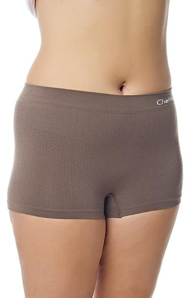 Chaffree Anti Rozaduras - Calzoncillos bóxer para Mujer Mocha trufas | Color | Midi | Multisize pequeñas 2 X L | Ropa Interior Boy Pantalones Cortos de la ...