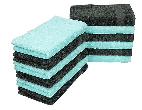 BETZ Paquete de 12 Piezas de Toallas de Invitados Palermo 100% algodón tamaño 30x50 cm