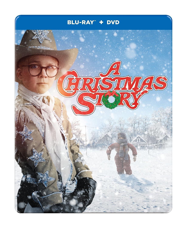 Amazon.com: A Christmas Story: 30th Anniversary (BD/DVD) [Blu-ray ...