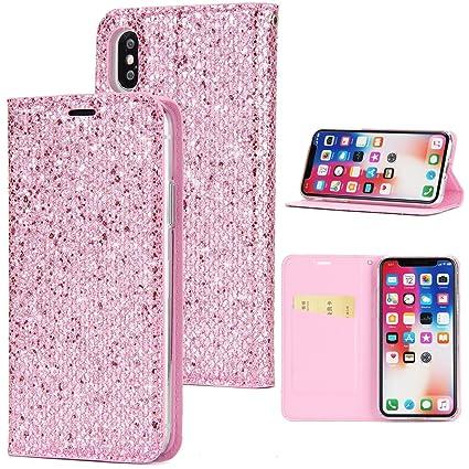 Custodia Cover iPhone 6 Pell Portafoglio JAWSEU Lusso Design