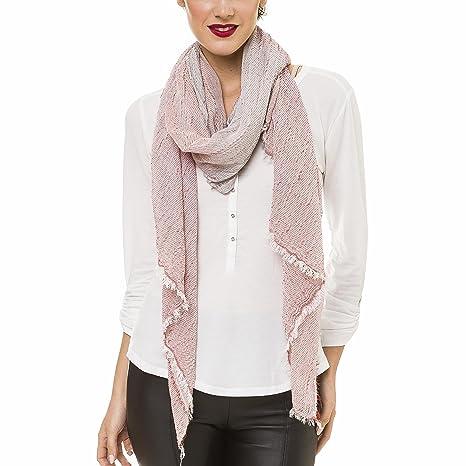 Amazon.com: Bufanda para mujer, ligera, geométrica, de moda ...