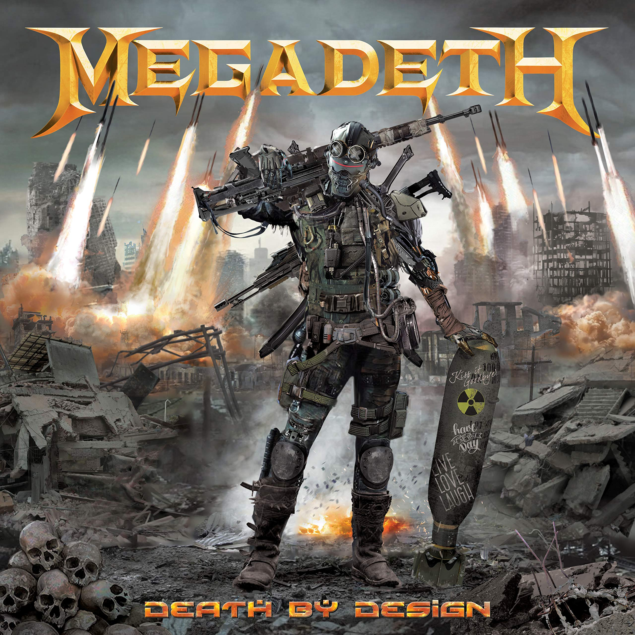 Megadeth Death by Design Hardcover (Megadeth Omnibus) by Heavy Metal Magazine