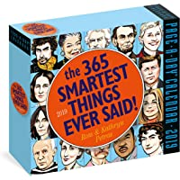 The 365 Smartest Things Ever Said! Page-A-Day Calendar 2019