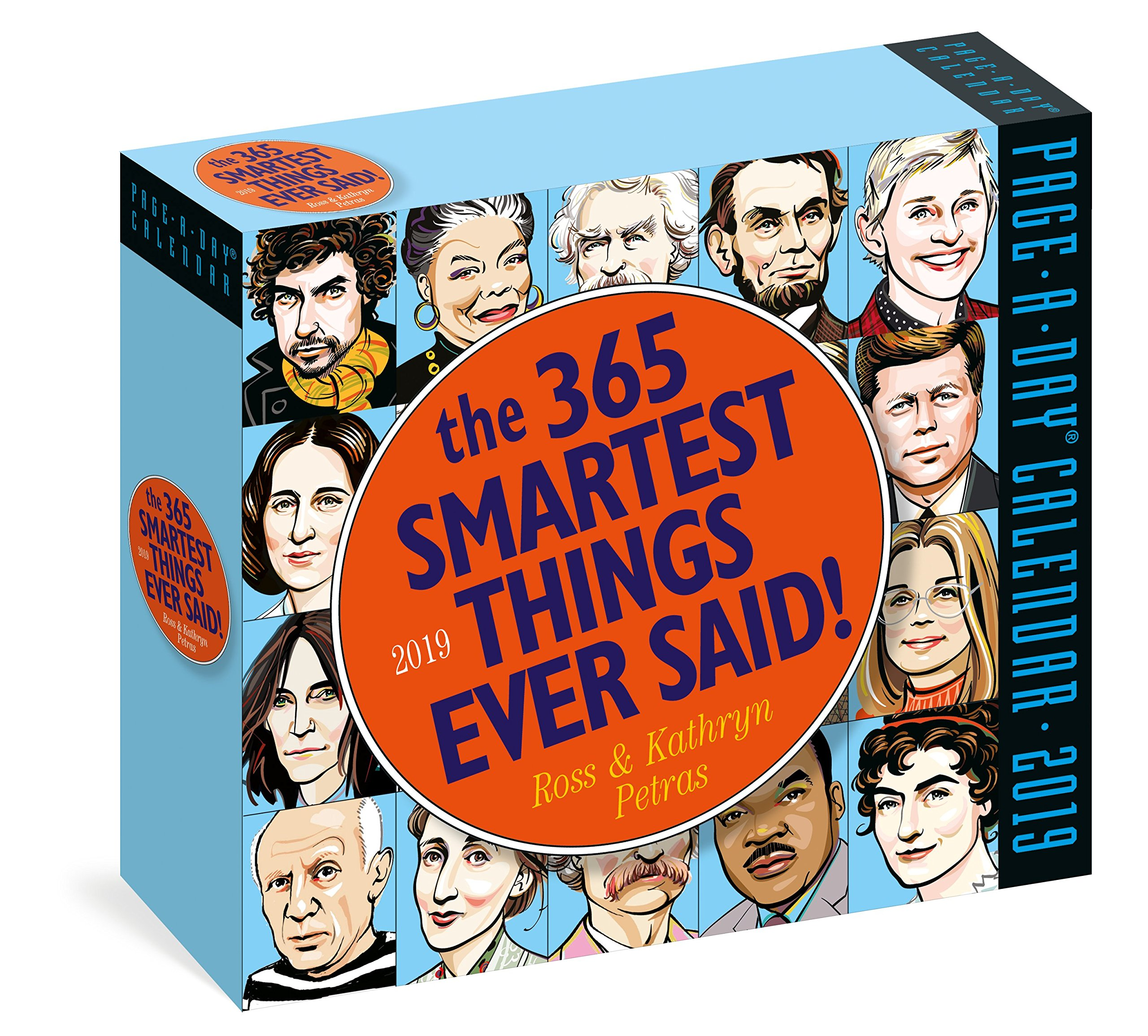 365 Smartest Things Ever Said Page A Day Calendar 2019