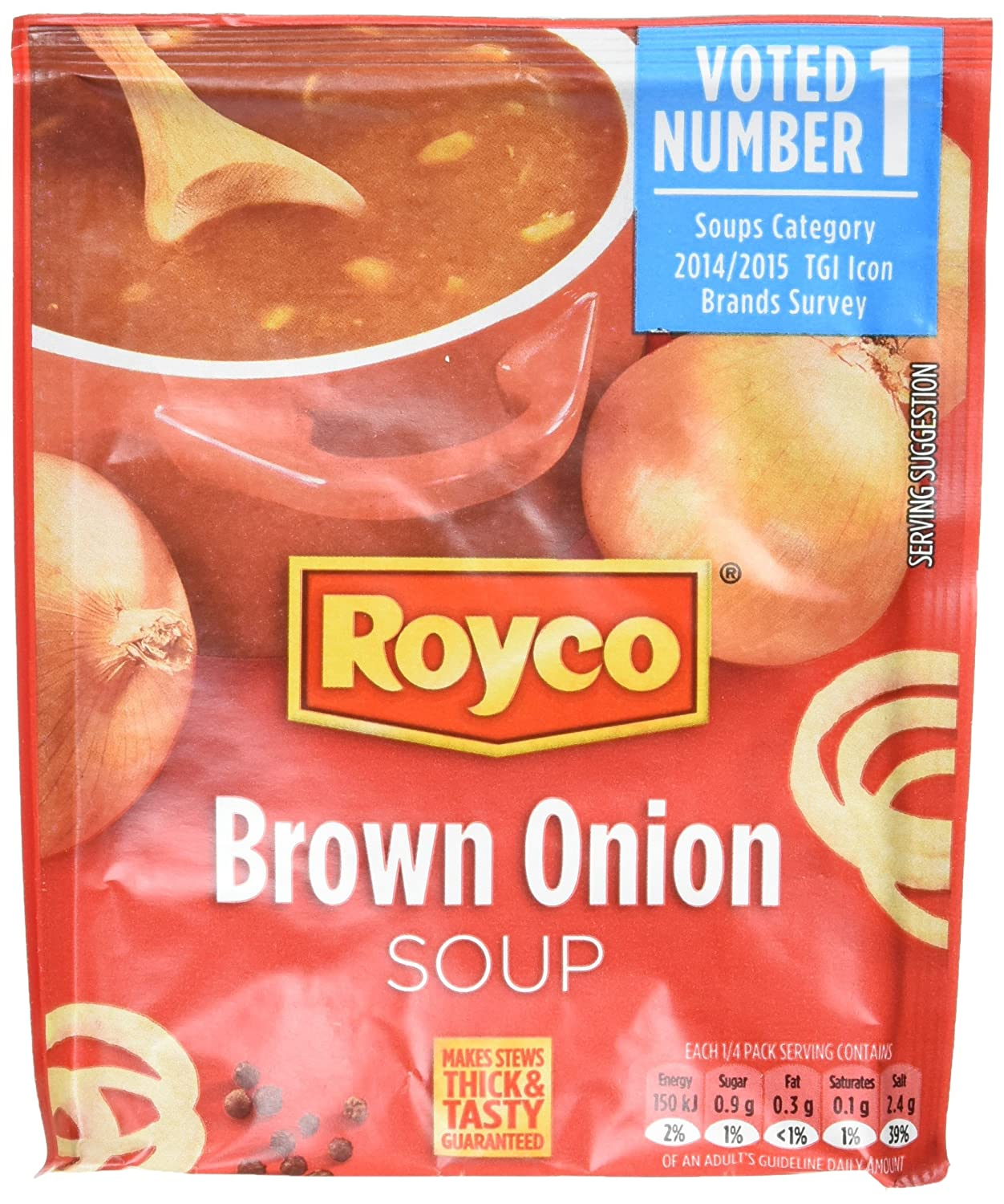 royco brown onion soup 45 g pack of 10 amazon co uk grocery