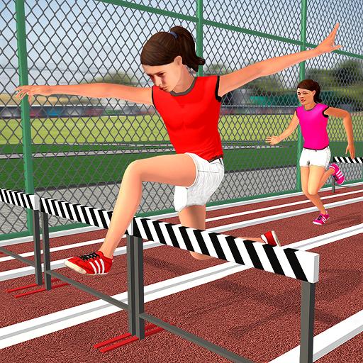 High School Virtual Sports Gymnast Sports Games For Girls- Enjoy Sports Day Adventure. Football Girl Athlete Is Ready In Virtual Sports Simulator Games- Be The Top Sports Athlete Girl In High School, Best School Girl Sports Game (High School Sim App)