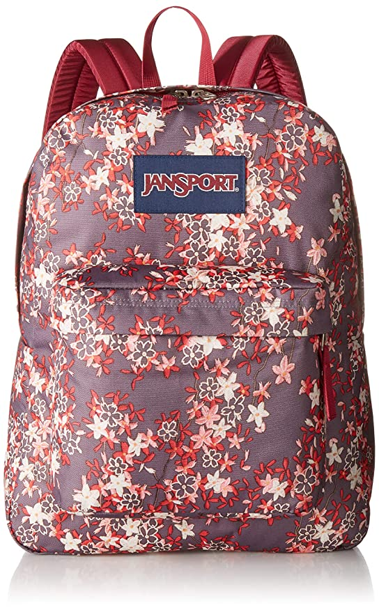 Amazon.com | JanSport Superbreak Backpack - Folk Floral - Classic, Ultralight | Casual Daypacks