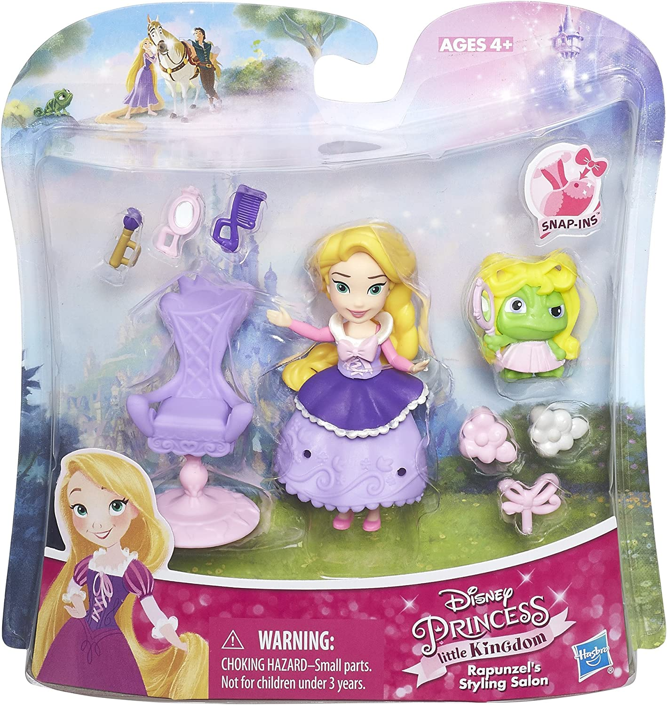 Disney Princess Little Kingdom Rapunzel Snap-ins Hasbro Figure Tangled Doll Mini