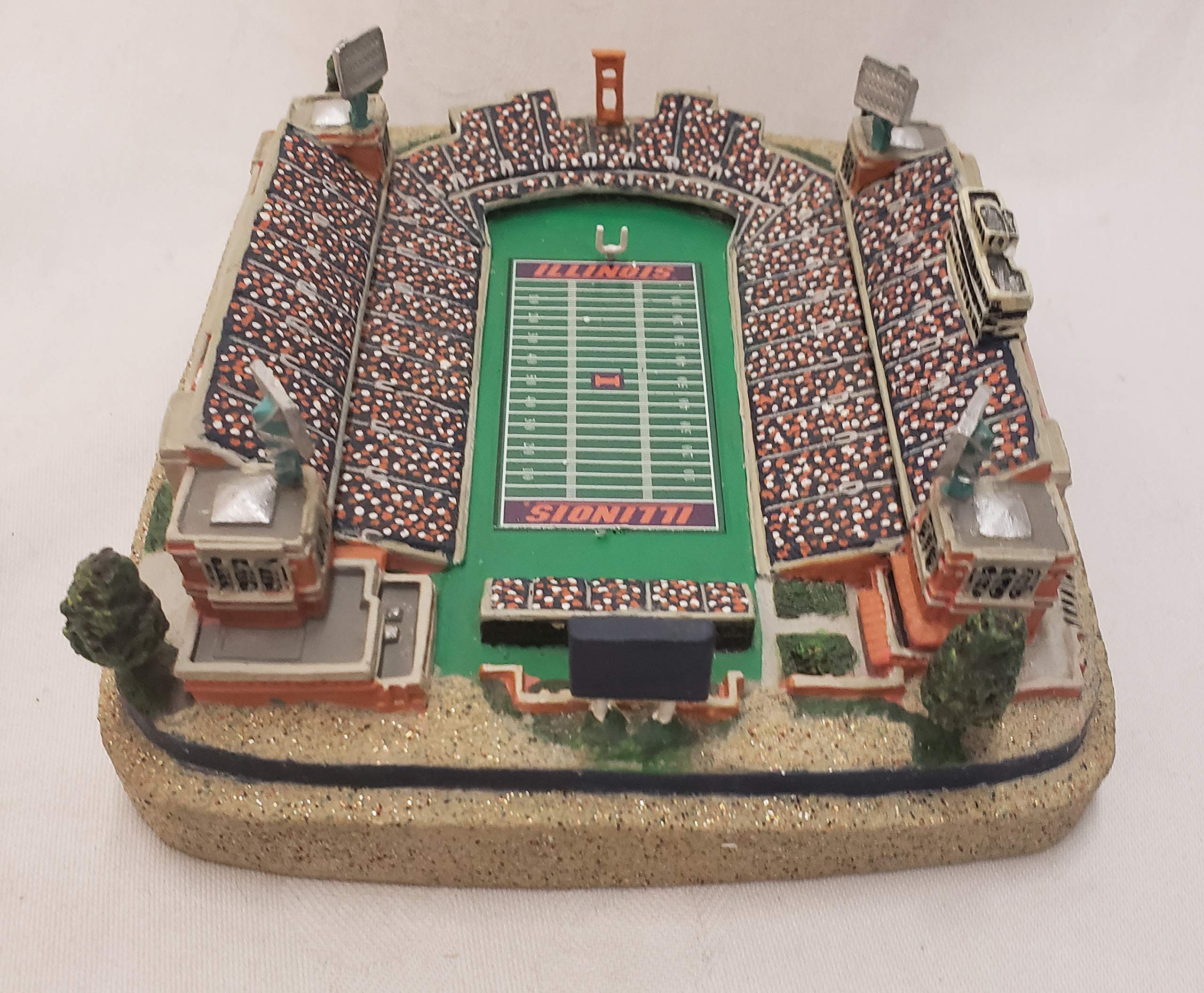 University of Illinois Fighting Illini Gold Series Stadium Replica