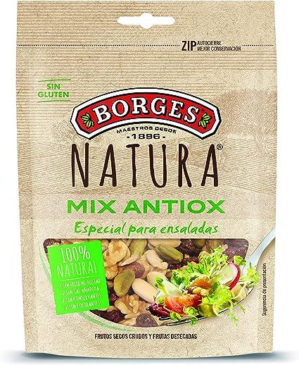 Borges Natura - Mezcla de Frutos Secos Crudos y Frutas