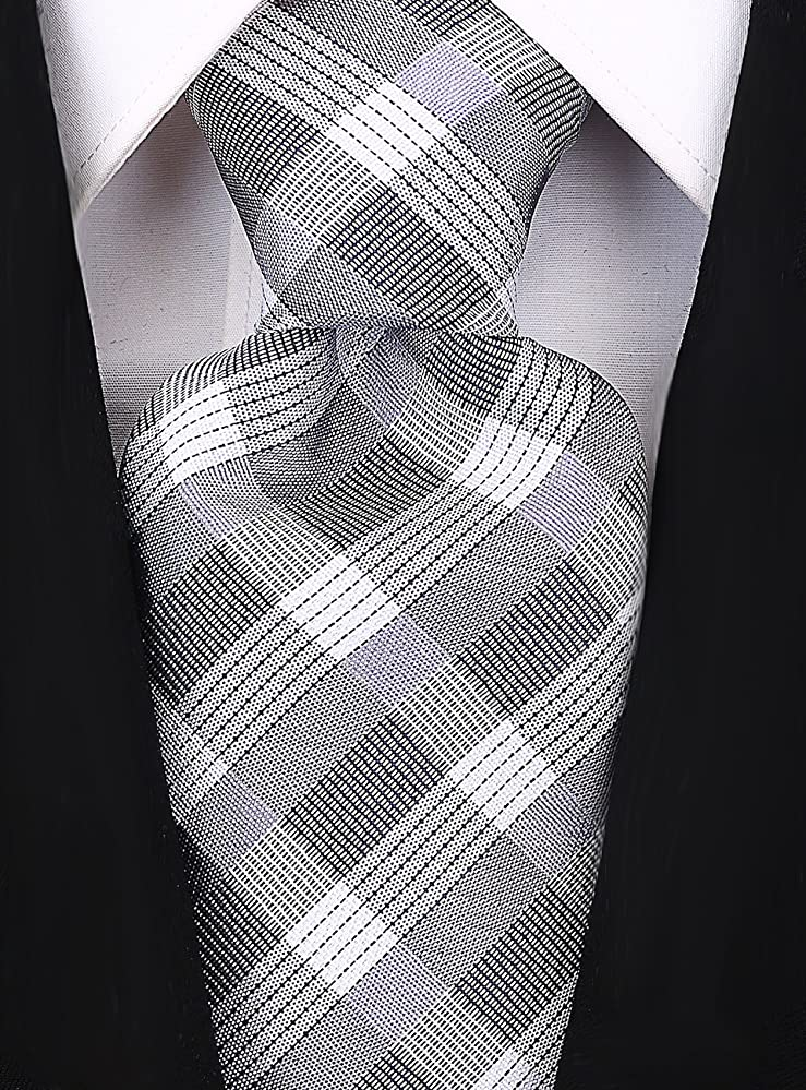 1920s Bow Ties | Gatsby Tie,  Art Deco Tie Scott Allan Men's Stripe Necktie $11.99 AT vintagedancer.com