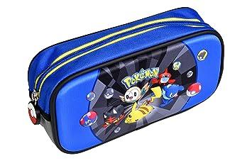 Alpa - 1 estuche rectangular 2 compartimentos - Pokemon - 22 ...