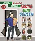 Magic Bug Screen  Magnetic Screen Door  Mesh Curtain, 39x83-Inch