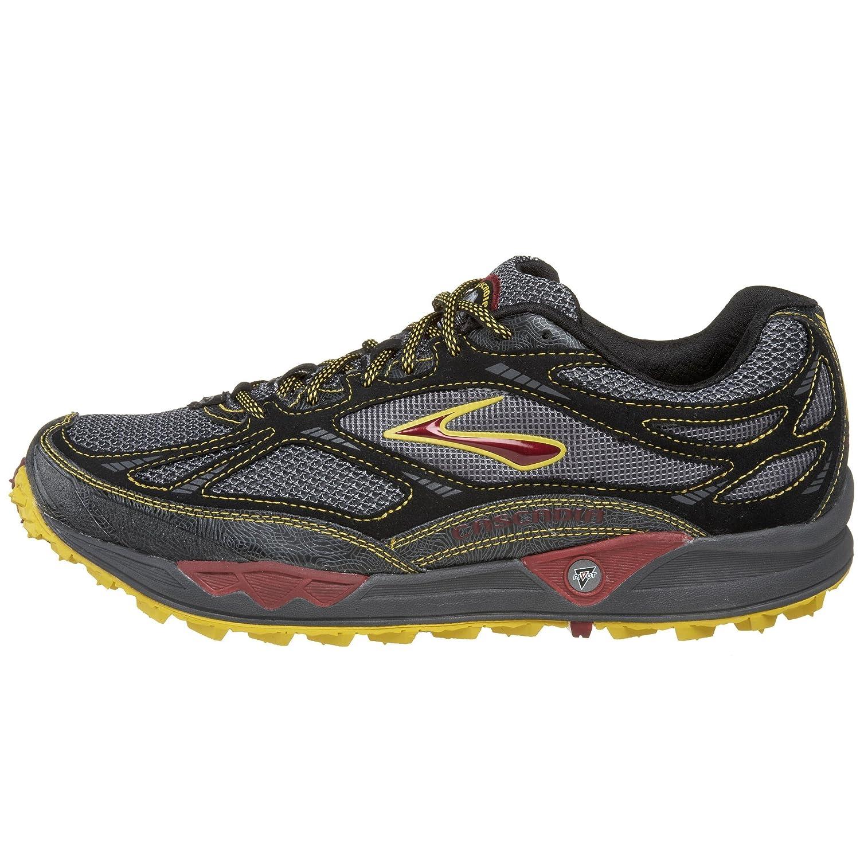 EU pied Cascadia Chaussures 8 Brooks 43 Gris course 5 5 homme ROCIanx8