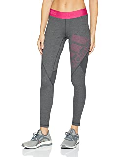 ad83c4ad0b940 Amazon.com: adidas Women's Training Alphaskin Sport Long Logo Tights ...