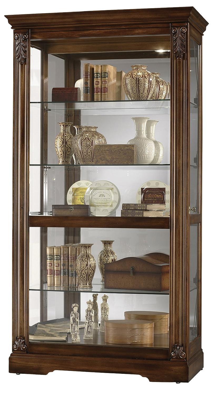 Amazon.com: Howard Miller 680 479 Andreus Curio Cabinet: Kitchen U0026 Dining