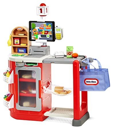 Amazon.com: Little Tikes Shop U0027N Learn Smart Checkout N, Multicolor: Toys U0026  Games