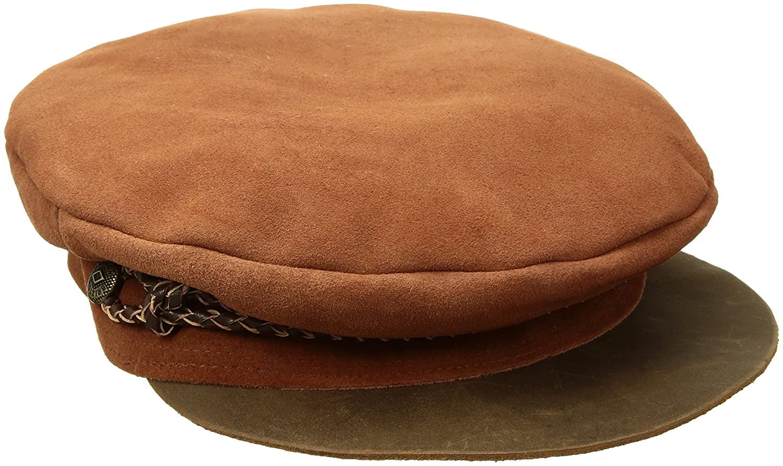 7b07d288d9fd6 Brixton Men s Kayla Suede Moto Hat