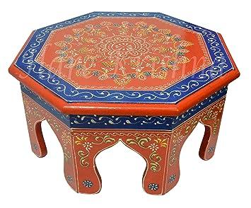 Amazon.com: Hare Krishna - Mesa baja de madera con diseño ...