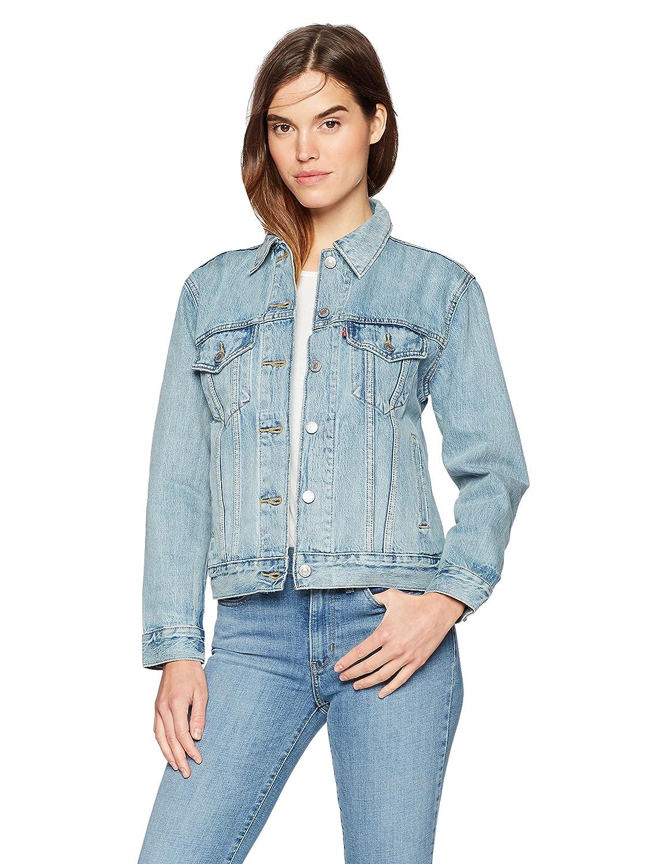 005f0052185 Levi's Women's Ex-boyfriend Trucker: Amazon.ca: Clothing & Accessories