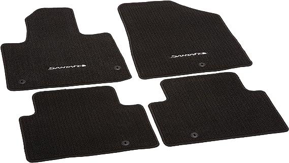 Genuine Hyundai Accessories Custom Fit Carpeted Floor Mat - (Black) - 4ZF14-AC100-RYN