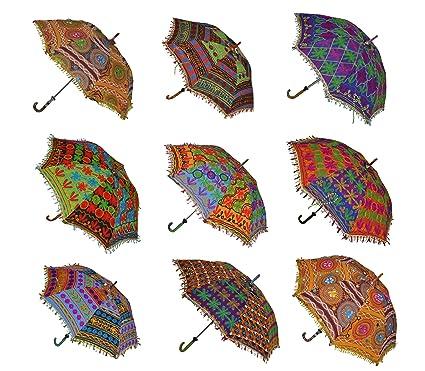 6436ab346dc21 Amazon.com : Indian Handmade Designer Cotton Fashion Multi Colored ...