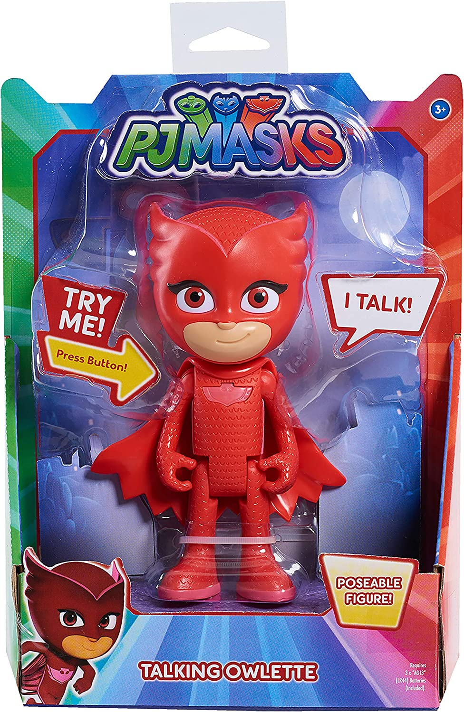 PJ Masks- Buhíta Súper Figura con Voz, Color Rojo (Bandai ...