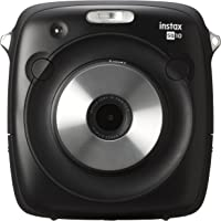 instax SQUARE SQ10 Instant Camera (Black) with 20 shots film