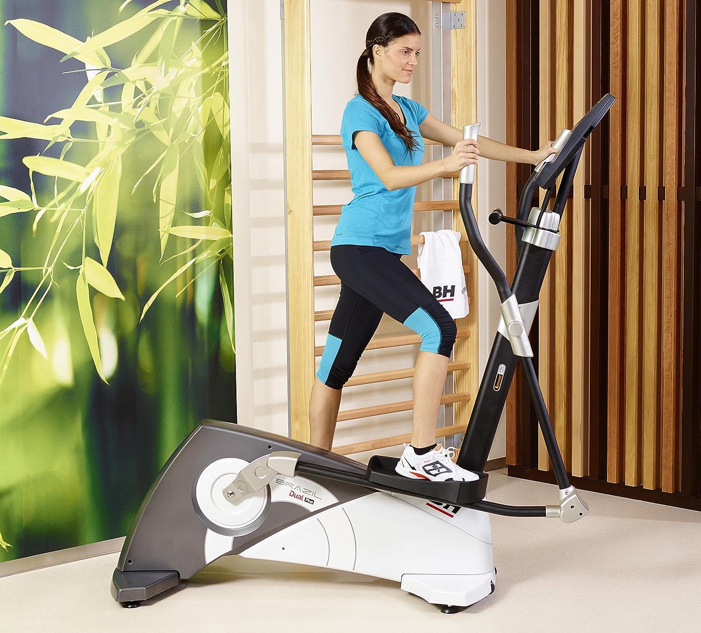 BH Fitness - Bicicleta elíptica Brazil Dual: Amazon.es: Deportes y ...