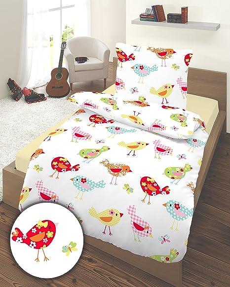 Dobnig 2585718 Juego de sábanas infantiles (135 x 200 cm