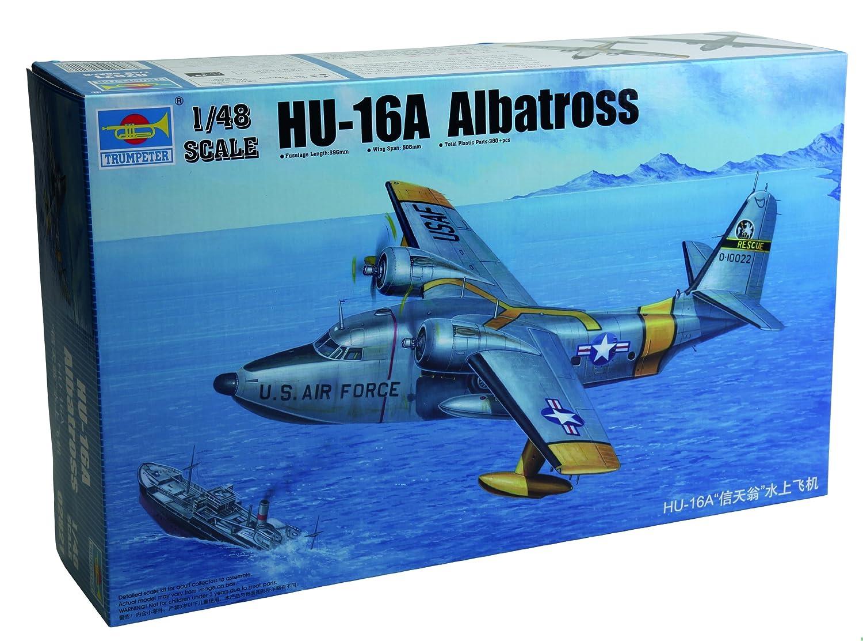 Trumpeter HU16A Albatross USAF Amphibian Aircraft (1/48 Scale)