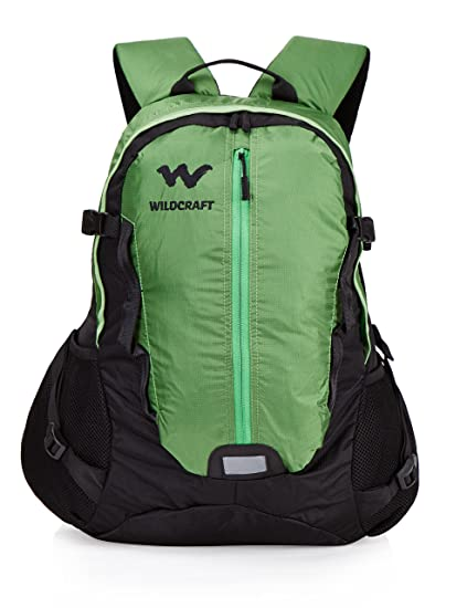 0882f46060 Wildcraft HypaDura 30 Liters Green Casual Backpack (8903338036975)  Amazon. in  Bags