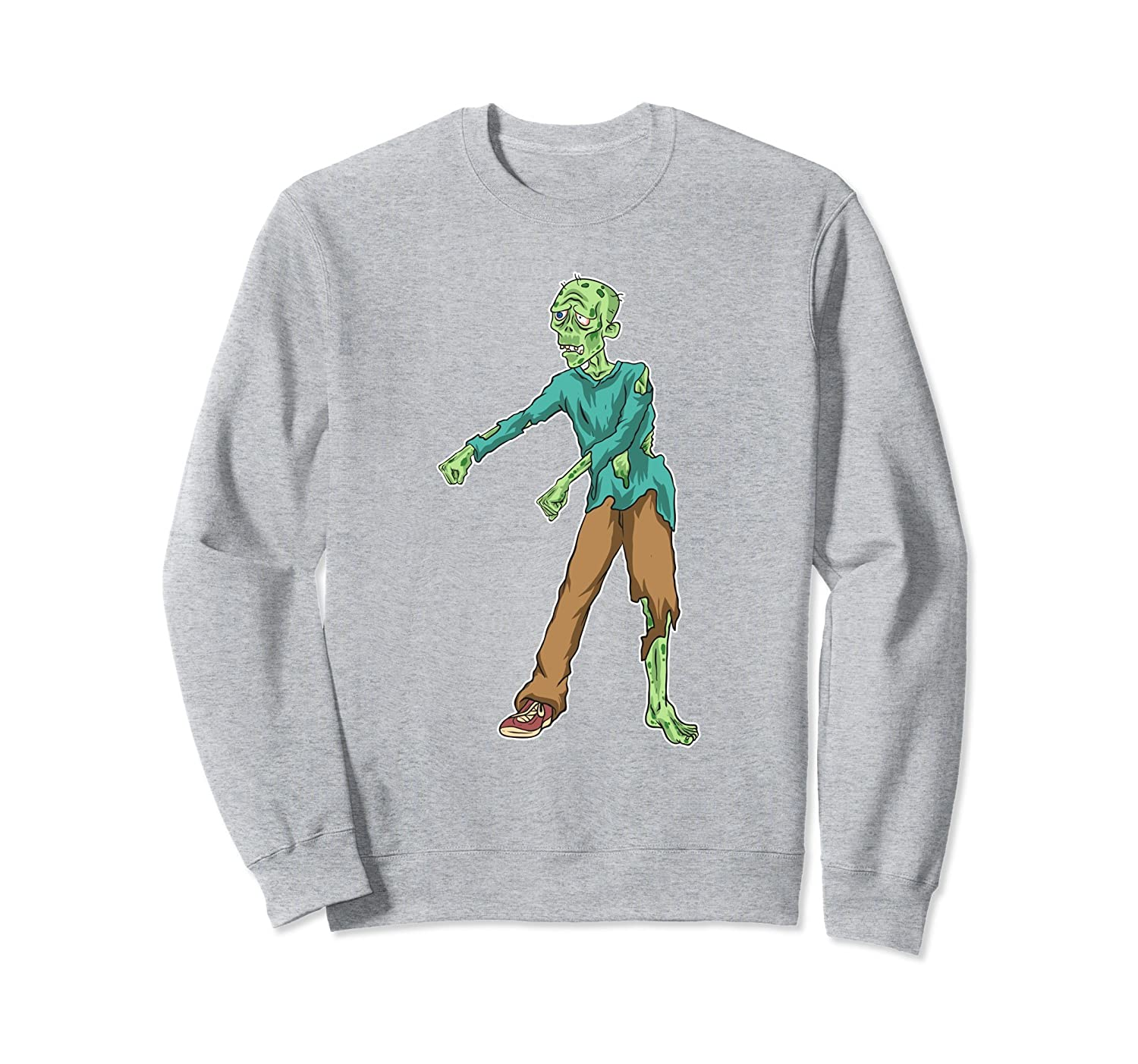 Zombie Flossing Halloween Sweatshirt Floss Dance Gifts-ANZ