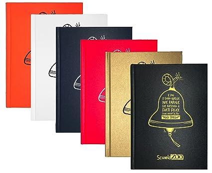 Scuolazoo - Diario agenda 2017 y 2018 Maxi Classic: Amazon ...