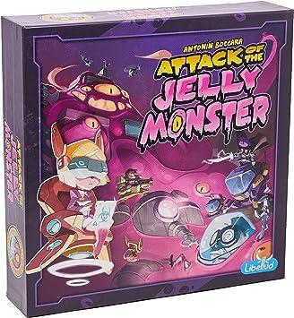 Libellud- Attack of The Jelly Monster - Español, Color (Asmodee) , color/modelo surtido: Amazon.es: Juguetes y juegos