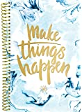 "bloom daily planners Undated Planner (+) Fashion Agenda (+) Weekly Diary (+) Monthly Datebook Calendar (+) Calendar Year January - December UNDATED (+) 6"" x 8.25"" - Make Things Happen"