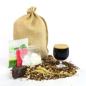 1 Gallon Home Brewing Homebrew Recipe Kit, Chocolate Oatmeal Stout, 5.4%