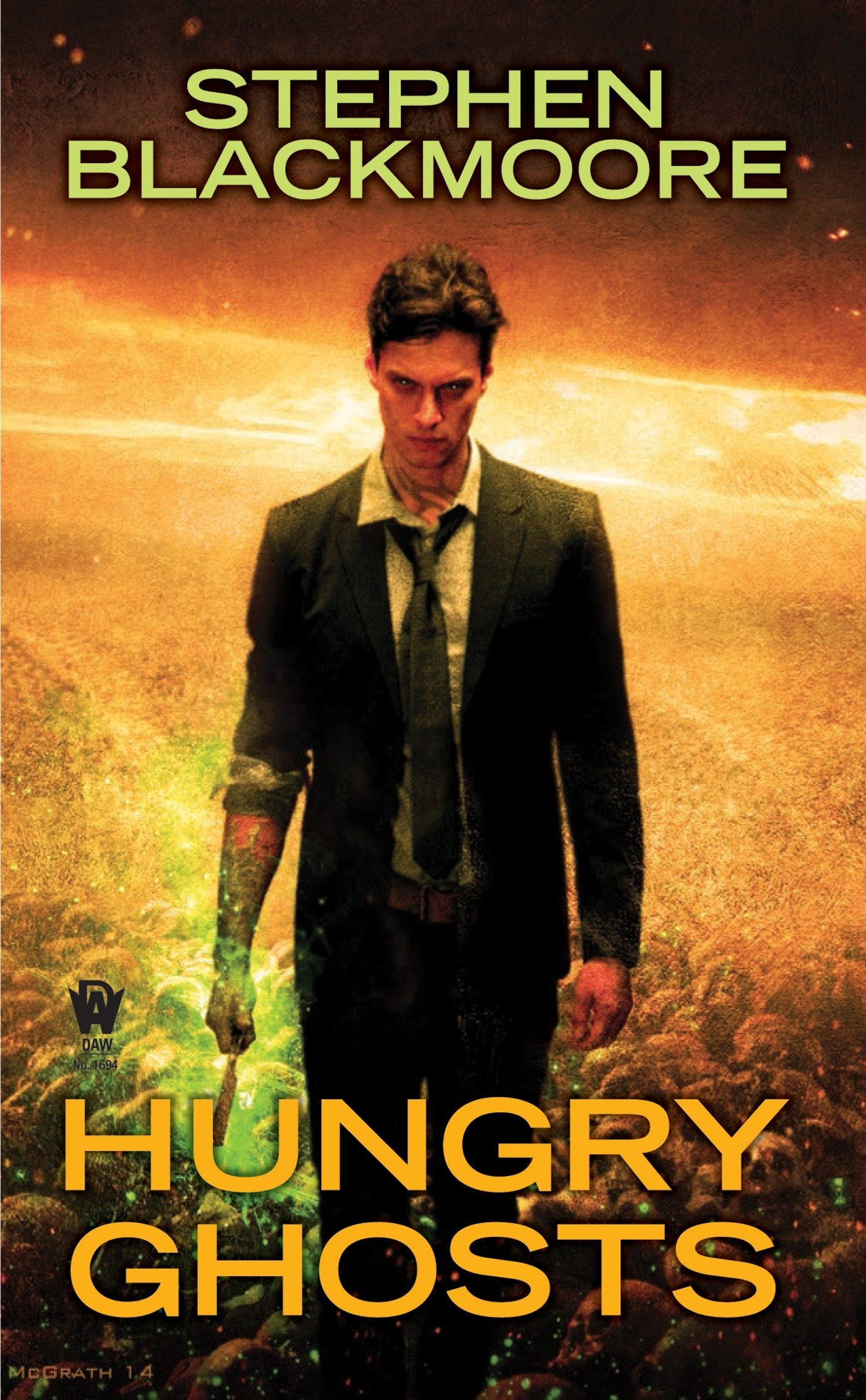 Hungry Ghosts (Eric Carter): Amazon.co.uk: Stephen Blackmoore:  9780756409418: Books